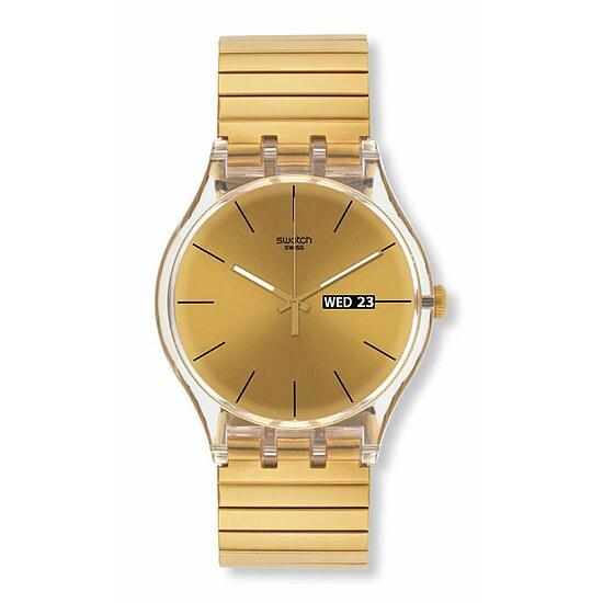 Swatch Uhr SUOK702 B LATE NIGHT GLAM New Gent Dazzling Light