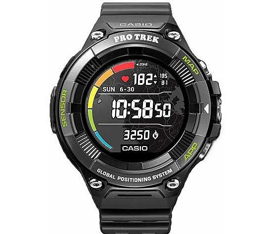 Pro Trek Smart OutdoorWatch WSD-F21HR-BKAGE Herrenuhr Uhrenserie Smart Watch