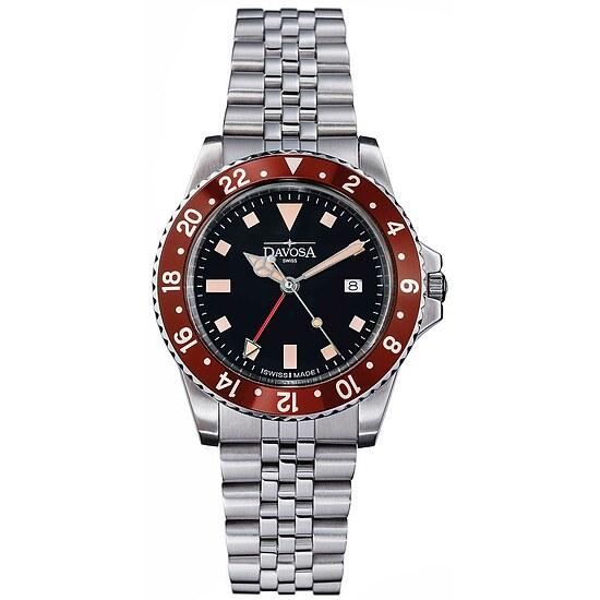 Herrenuhr von Taucher Vintage Diver 163.500.60