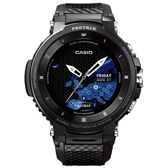 Pro Trek Smart OutdoorWatch WSD-F30-BK Herrenuhr Uhrenserie Smart Watch