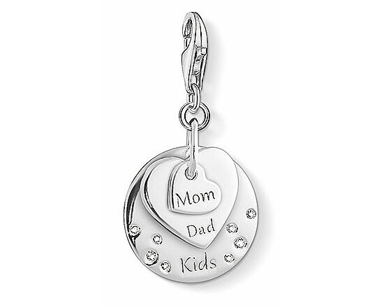 Thomas Sabo CC 1453-051-21 Anhänger CHARM CLUB Herzen Mom Dad Kids