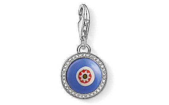 Thomas Sabo CC 1440-052-1 Anhänger Blue Glass Eye CHARM CLUB Blaues Glasauge
