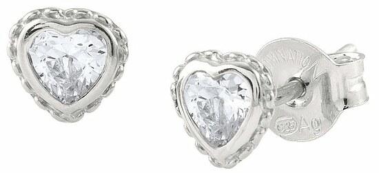 Ohrstecker von Nomination 142687 001 in Silber rhodiniert bei Uhrendirect - Markenuhren