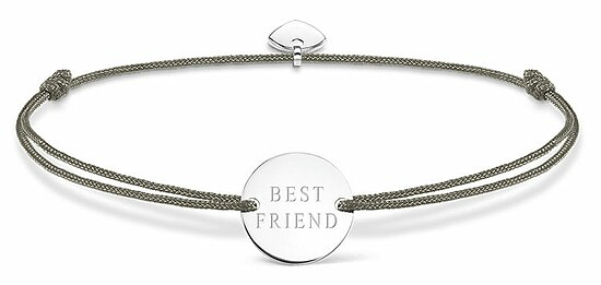 Thomas Sabo LS024-173-5 GLAM & SOUL Armband grau LITTLE SECRETS Best Friend 20 cm