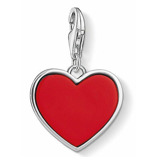 Thomas Sabo CC 1471-337-10 Anhänger Red Heart CHARM CLUB Rotes Herz