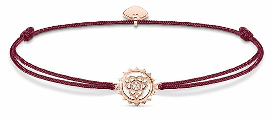 Thomas Sabo  LS034-898-10 GLAM & SOUL Armband rot Little Secret Chakra rosé 20 cm