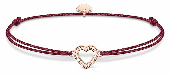 Thomas Sabo  LS040-898-10 GLAM & SOUL Armband rot Little Secret Herz rosé 20 cm