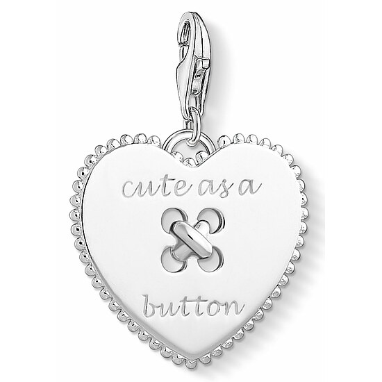 Thomas Sabo CC 1485-001-21 Anhänger Heart Charm Club Herz - Cute as a Button
