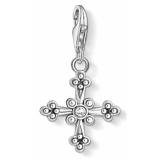 Thomas Sabo CC 1480-643-14 Anhänger Cross CHARM CLUB Ikonisches Ornament Kreuz