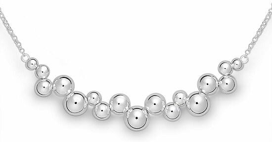 Quinn 0272192 Silber Halskette Kugel poliert