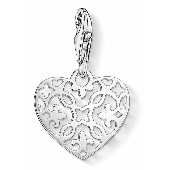 Thomas Sabo CC 1497-001-12 Anhänger Heart Charm Club Arabesque-Herz