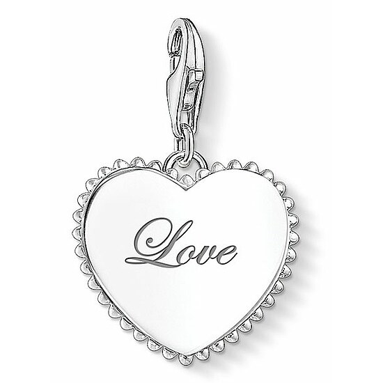 Thomas Sabo CC 1503-001-21 Anhänger Heart Charm Club Herz Love