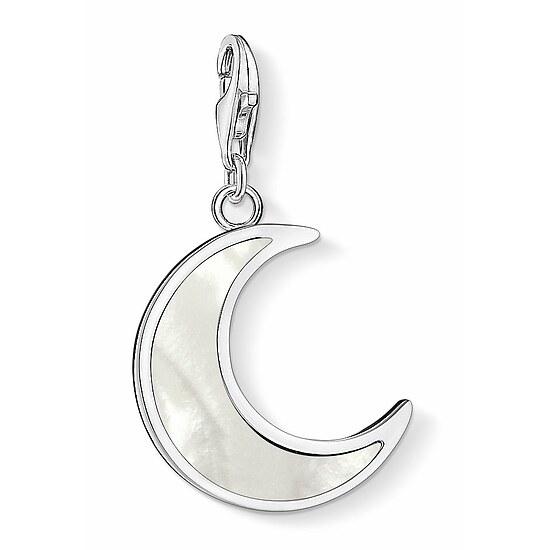 Thomas Sabo CC 1536-029-14 Anhänger Moon CHARM CLUB Mond Perlmutt