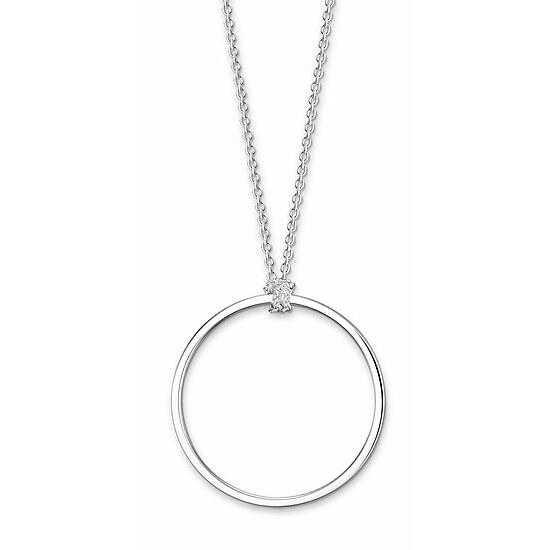 Thomas Sabo X0252-001-21-L90 CHARM CLUB Charm-Kette Kreis Silber 90 cm