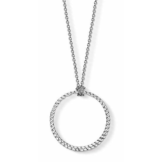Thomas Sabo X0251-637-21-L90 CHARM CLUB Charm-Kette Silber Kreis Groß 90 cm