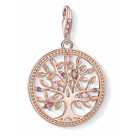 Thomas Sabo CC 1700-626-9 Anhänger CHARM CLUB Tree of Love rosé