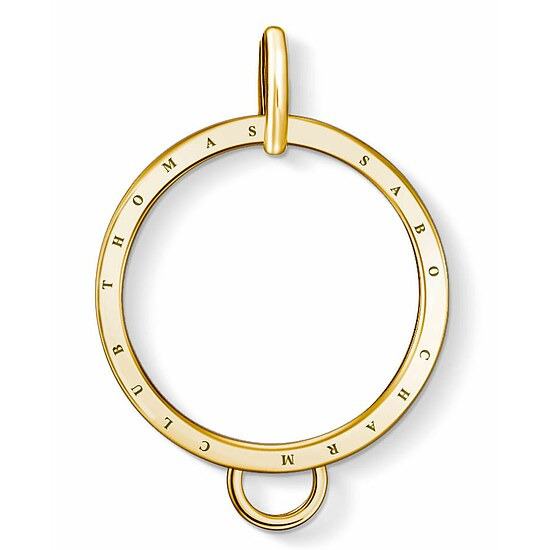 Thomas Sabo X0266-413-39  Charm-Träger Carrier Kreis golden