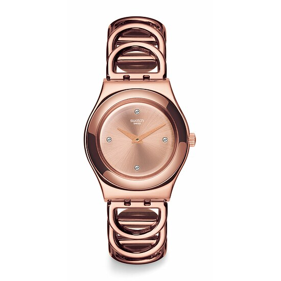 Swatch Uhr YLG126G LET IT SHINE Irony Medium Djane