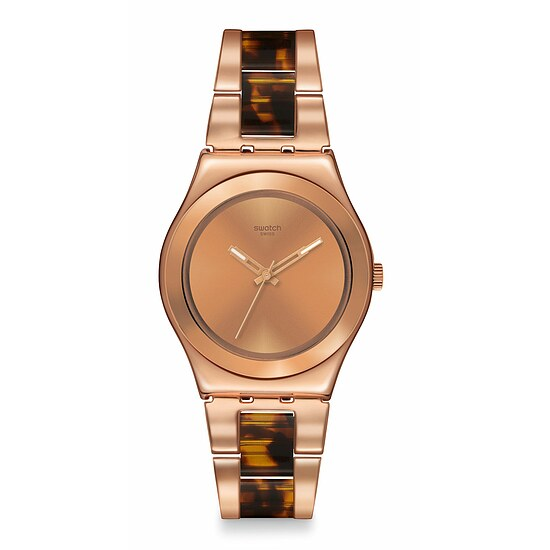 Swatch Uhr YLG128G FULL-TIME GLAM Irony Medium Chicdream Rose