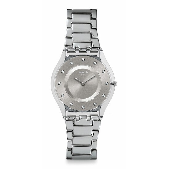 Swatch Uhr SFK393G SPRING BREEZE Skin Classic Silver Drawer