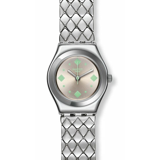 Swatch Uhr YSS291G SPRING BREEZE Irony Lady Petite Reine