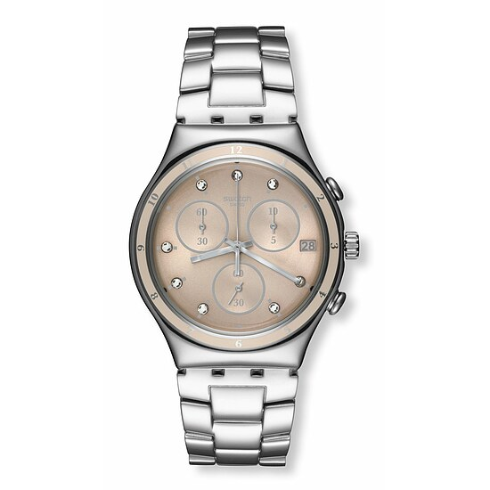Swatch Uhr YCS583G SPRING BREEZE  Irony Chrono Classy Shine