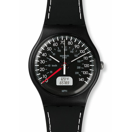 Swatch Uhr SUOB117 GRAN TURISMO New Gent Black Brake