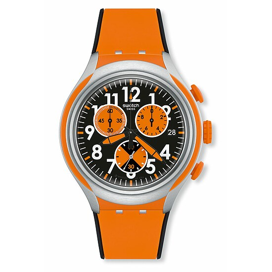 Swatch Uhr YYS4003 Irony Chrono Xlite Feel Strong