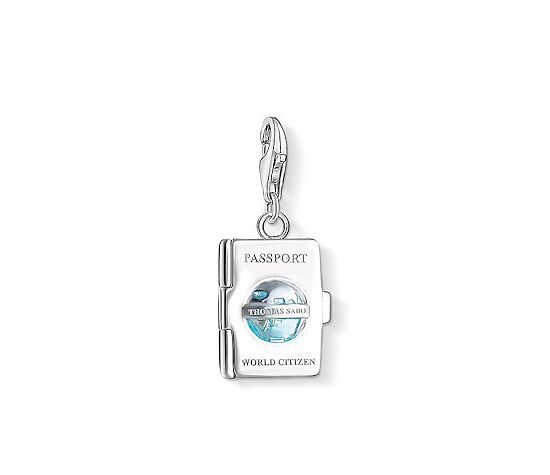 Thomas Sabo CC 1233-007-17 Anhänger Passport CHARM CLUB