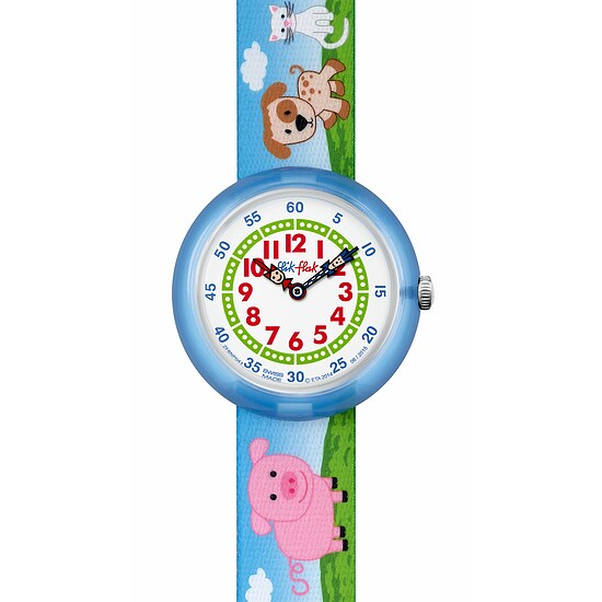 Flik Flak Uhren FBNP043 FUNNY HOURS Kinderuhr Story Time Girls (3+) Farmily