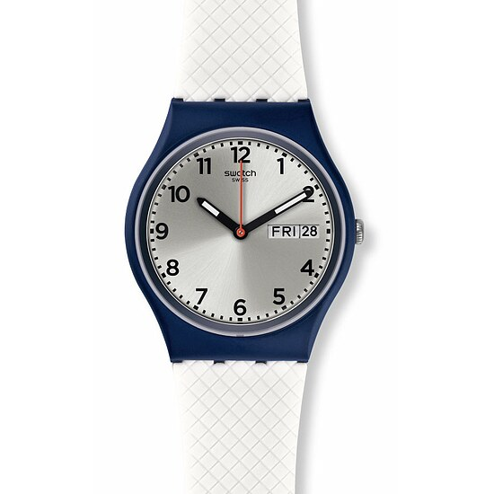 Swatch Uhr GN720 TECH MODE Gent White Delight