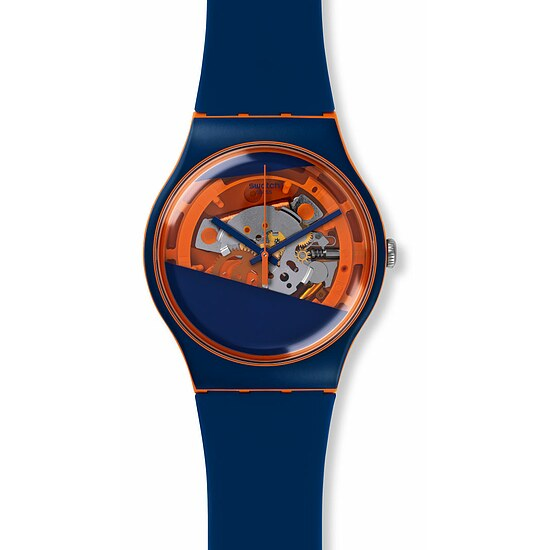 Swatch Uhr SUOO102 SPORT MIXER New Gent Lacquered Myrtil-Tech