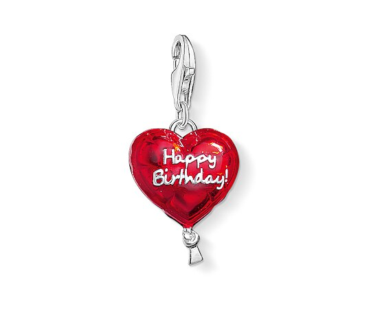 Thomas Sabo CC 1286-007-10 CHARM CLUB Anhänger Luftballon HAPPY BIRTHDAY