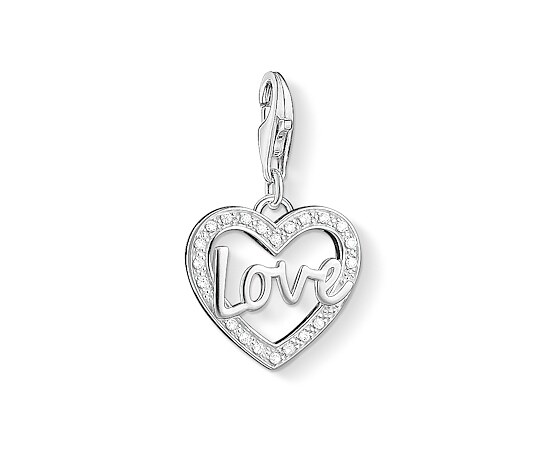 Thomas Sabo CC 1310-051-14 Anhänger Charm Club LOVE