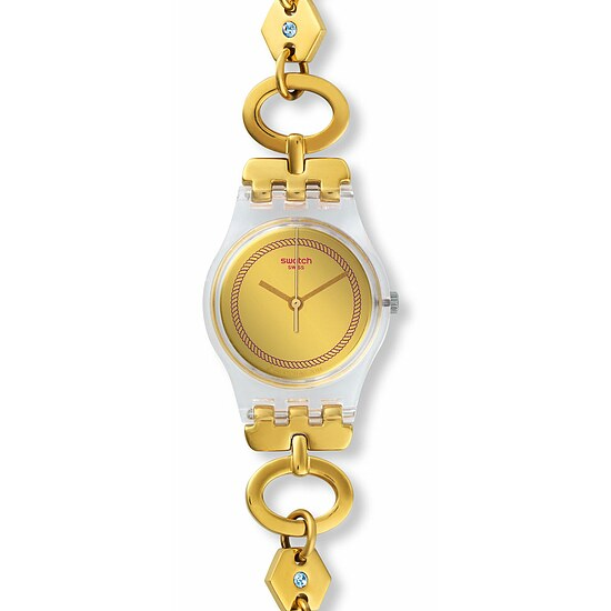 Swatch Uhr LK346G EXOTIC CHARM Original Lady Elefinja