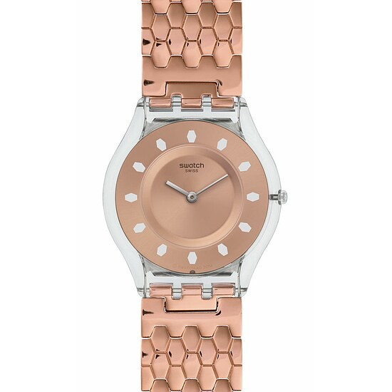 Swatch Uhr SFE100GA EXOTIC CHARM Skin Red Fort