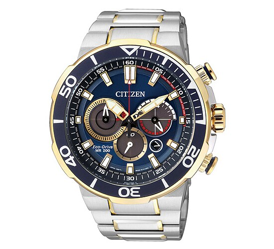 Citizen Uhren CA4254-53L Eco-Drive Herren Sports - Chrono bicolor