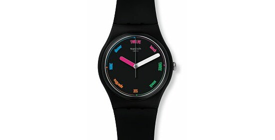 Swatch Uhr GB289 POWER TRACKING Gent The Strapper