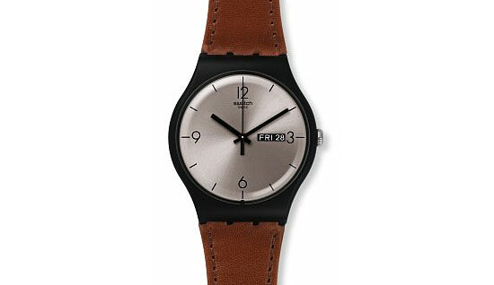 Swatch Uhr SUOB721 POWER TRACKING New Gent Lonely Desert