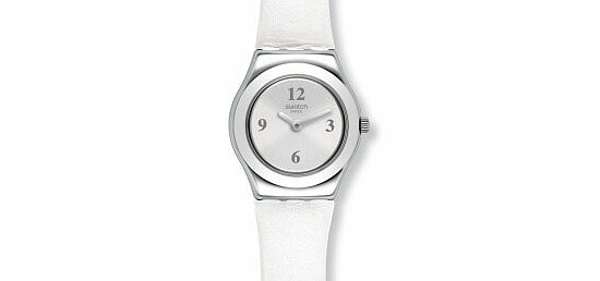 Swatch Uhr YSS296 POWER TRACKING Irony Lady Silver Keeper