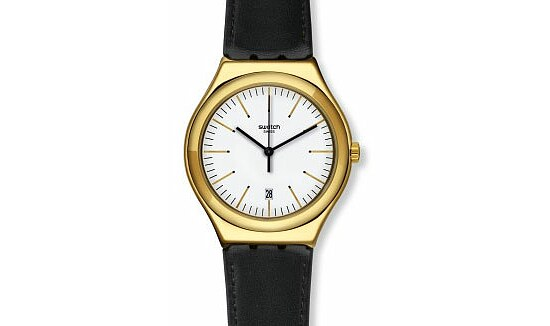 Swatch Uhr YWG404 Irony Big Classic POWER TRACKING Edgy Time