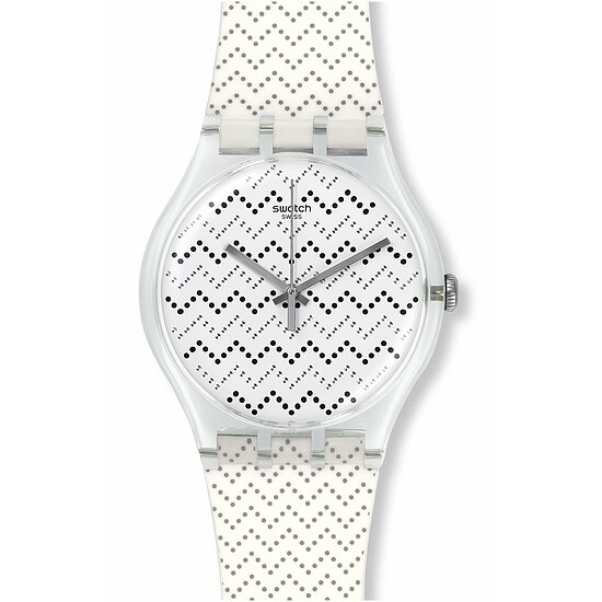 Swatch Uhr SUOK118 ARCHI-MIX New Gent Wavey Dots