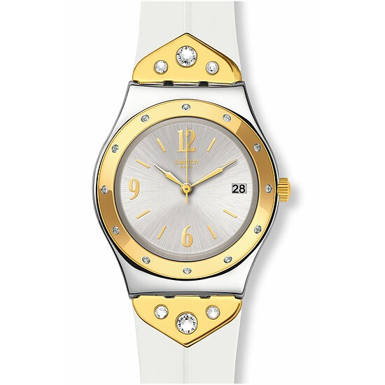 Swatch Uhr YLS451 ARCHI-MIX Irony Medium Mezzanotte