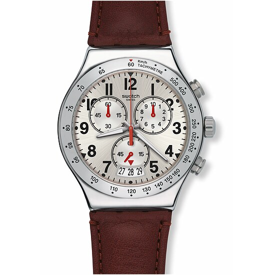 Swatch Uhr YVS431 ARCHI-MIX New Irony Chrono Destination Roma