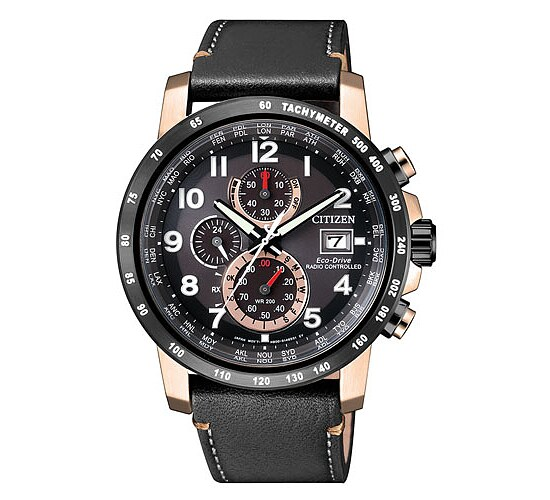 Eco Drive Funkuhr AT8126-02E