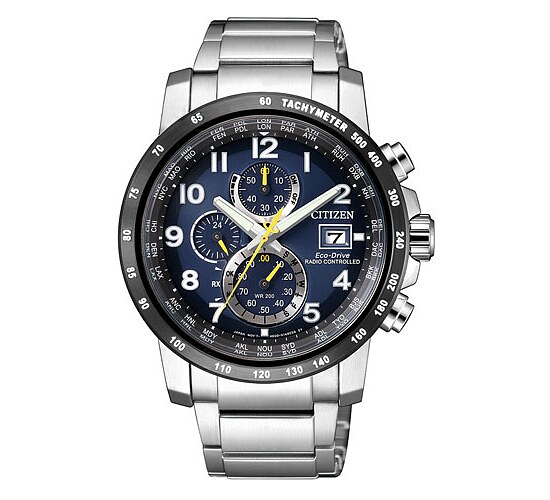 Citizen Uhren-Serie AT8124-91L Eco-Drive Radio Controlled Funkuhr