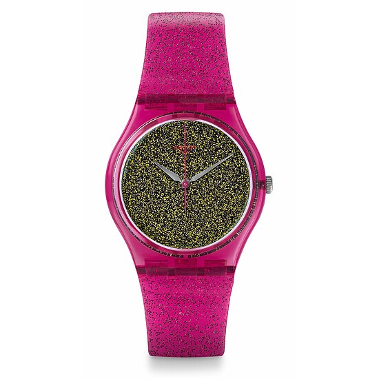 Swatch Uhr GP149 LOOK FAB Gent Nuit Rose