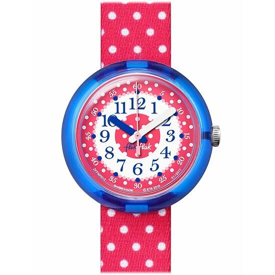 Flik Flak Uhren-Serie FPNP012 SUNNY HOURS - A TRIP TO LONDON  Kinderuhr Friends & Heroes Girls (5+) Pink Crumble