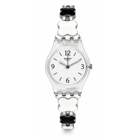 Swatch Uhr LK367G A TRAVELER'S DREAM Original Lady Clovercheck