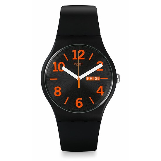 Swatch Uhr SUOB723 A TRAVELER'S DREAM New Gent Orangio
